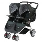 Steelcraft Agile Twin Travel System Onyx