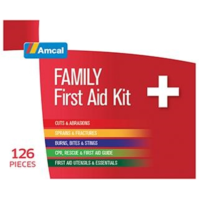 Amcal Family First Aid Kit