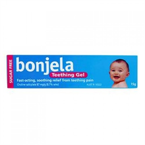 15g pack of Bonjela Teething Gel