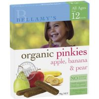 Bellamy's Organic Pinkies Snacks 12m+