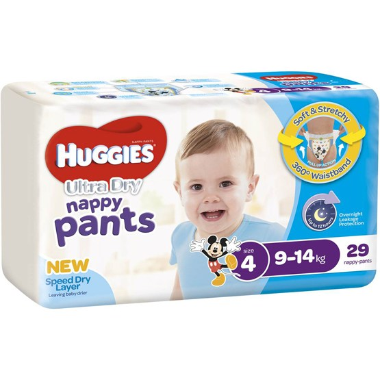 Huggies Ultra-Dry® Nappy Pants