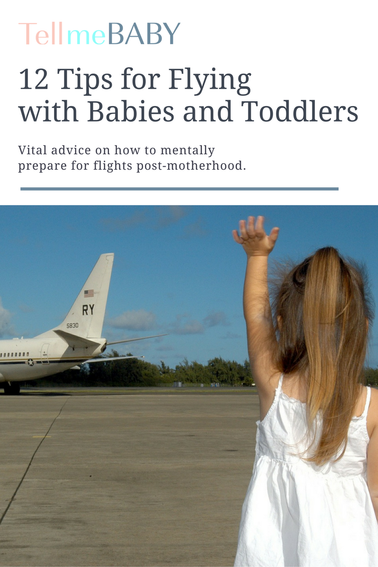 12 Tips for Flying with Babies and Toddlers