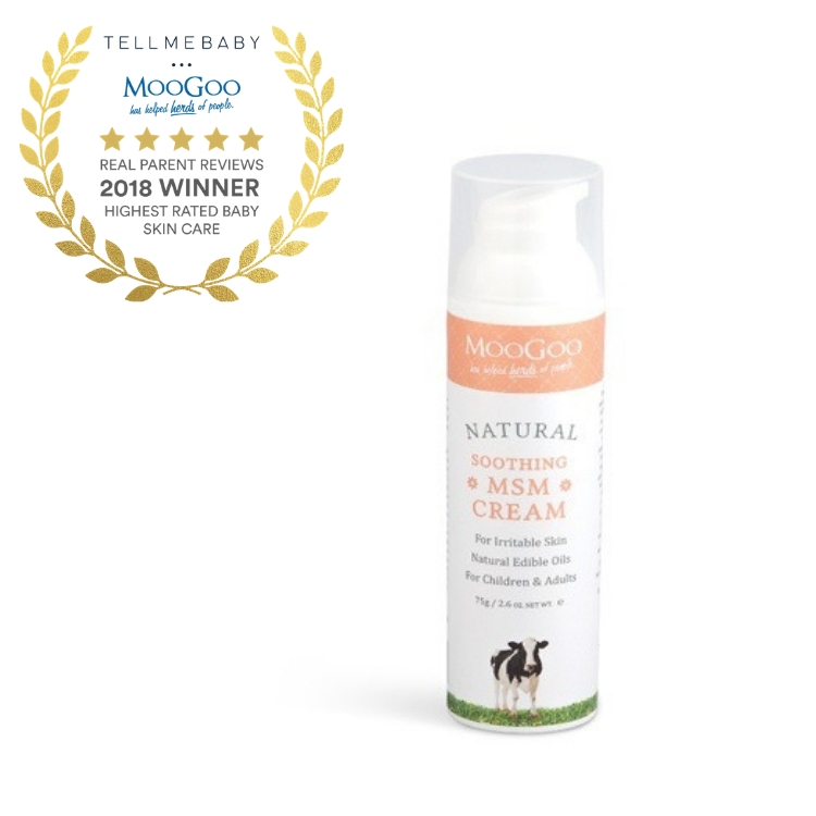 MooGoo Soothing MSM Cream