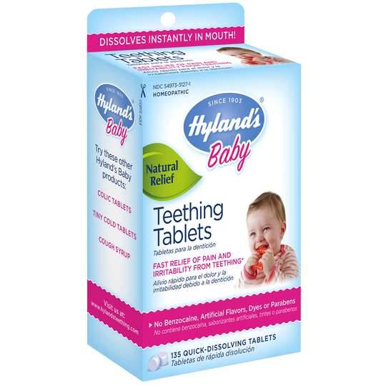 Hyland's Baby Teething Tablets | Reviews & Opinions - TmB
