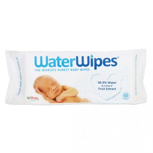 New packaging of WaterWipes Baby Wipes 60s with new text