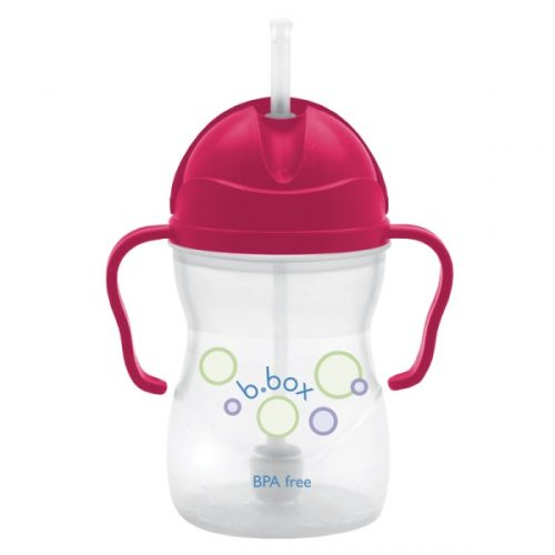 b.box Sippy Cup Raspberry colour