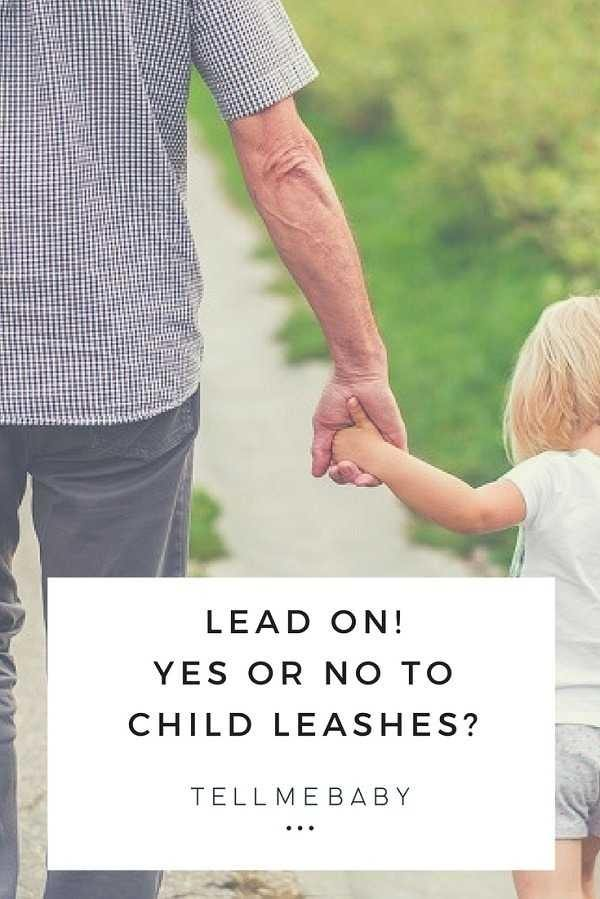 Lead on - Yes or No to child leashes? Tell Me Baby