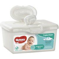 Huggies Baby Wipes Fragrance Free Tub