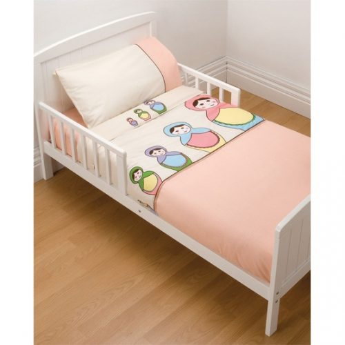 Toddler Bed Dressed In Mothers Choice 4 Piece Manchester Pack Babushka Babes Design