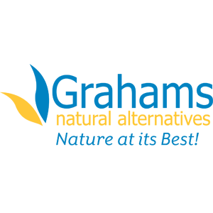 Grahams Natural Alternatives Logo - Nature at its Best!