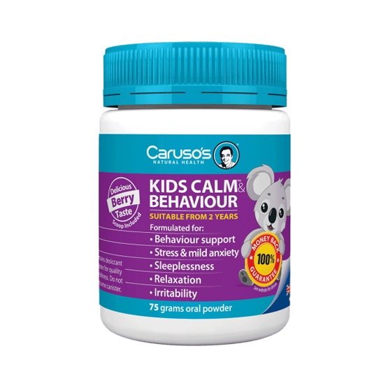 Caruso's Natural Health Kids Calm & Behaviour