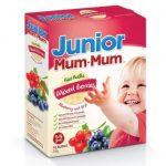 Baby Mum-Mum Junior Rice Rusks Mixed Berries Box - 35g / 16 rusks