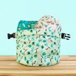 Swinging Sloth Bambino Mio Wet Nappy Bag with nappies inside