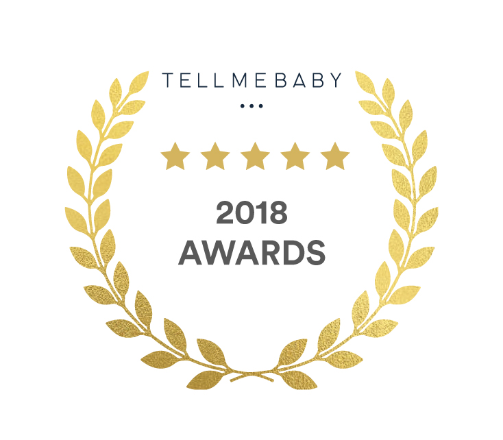 TMB Awards Blank Badge - best baby product awards