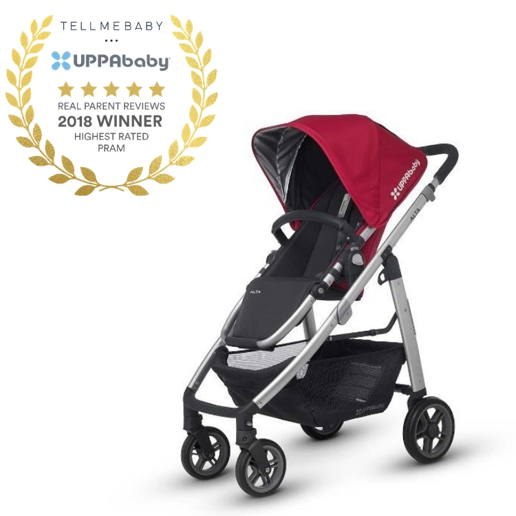 The top pram 2018 is the UPPAbaby Alta in the Tell Me Baby 2018 Awards for best baby products
