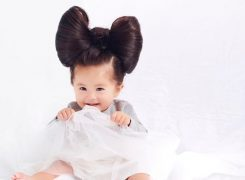 The New Face of Pantene is a One Year old Baby!